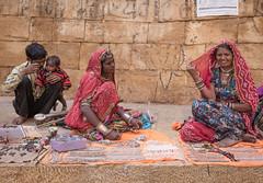 Rajasthan - Jaisalmer - Jewellry seller-4