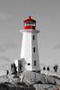 Lighthouse - Phare de Peggys Cove,  Nouvelle-Écosse, Canada - 2790 (rivai56) Tags: peggyscove novascotia canada ca lighthouse phare nouvelleécosse sonyphotographing noiretblanc peggys cove est lune des attractions touristiques les plus fréquentées de et son sans conteste point central sony ilce6000