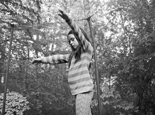 Mady on the Trampoline