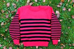 2017.10.15. tilattu raitapaita 3291m (villanne123) Tags: 2017 knitting knittedforchildren neulottu villanne villapaita lapsille sandnessisu sweater pullover machineknitting koneneuleet tilausneule