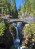 Christine Falls and bridge (wplynn) Tags: mtrainiernationalpark mountrainiernationalpark mtrainier mountrainier mt mount mountain rainier volcano volcanic washington state cascade cascaderange christinefalls christinebridge christine falls bridge christinefallsbridge vantrumpcreek