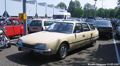 Citroën CX 2000 Pallas 1976 (XBXG) Tags: 2488ru67 citroën cx 2000 pallas 1976 citroëncx beige citromobile 2007 citro mobile veemarkt utrecht nederland holland netherlands paysbas vintage old classic french car auto automobile voiture ancienne française vehicle outdoor