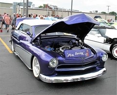"""""""A Mercury '49"""" (ilgunmkr - Mourning The Loss Of My Wife Of 52 Year) Tags: carshow amboyillinois amboydepotdayscarshow mercury mercuryconvertible 1949 1949mercury"""