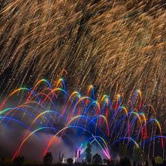 Pyromania (jactoll) Tags: alcester arrow warwickshire ragleyhall fireworks display lights sparks sony a7ii appicoftheweek sony2470mmf28gm jactoll