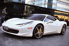 Ferrari 458 Italia (Petrolhead Team) Tags: ferrari ferrari458 458 458italia italia italian branco bianco white v8 sãopaulo brasil brazil