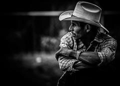 Cowboy (gies777) Tags: nicaragua zentralamerika mittelamerika lateinamerika central america vulkan konica minolta dynax 7d cowboy hut stetson sombrero schwarzweiss schwarz weiss bw black white monochrome
