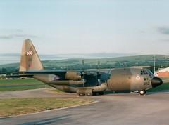 Hercules C-130K (Gerry Rudman) Tags: lockheed hercules royal air force woodford manchester austrian xv 292 8tcc