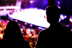 Together (Van-Fanel) Tags: couple love concert light siluet night lodvg coliseo yucatan