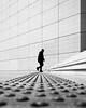 Leading Lines (torobala) Tags: urban street streetphotography blackandwhite monochrome paris france myparis parisstreet silhouette stair stairs stairway ladefense lines shadow light lightandshadow minimal