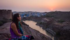 Rajasthan - Jodhpur - blue city- Mehrangharh Fort-5-2