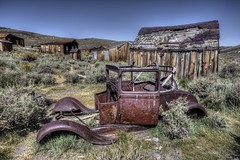 Ghost Town (Rik Tiggelhoven Travel Photography) Tags: bodie shp state historic park ghost town decayed building car mine desert california usa america amerika canon 6d fullframe ef1740mmf4lusm rik tiggelhoven travel photography outdoor barn hdr