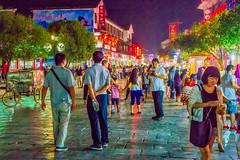 Yangshuo-nightlife (S. Peterson) Tags: stevepeterson yangshuo crowdsatnight