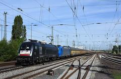 TXL 182 519 with a Altman Car train to Bayern_ (Richard Hagues Photography) Tags: txl cars freight guterzuge altman ars bremen