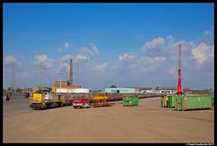 B Logistics 7856, Gent 11-04-2017 (Henk Zwoferink) Tags: gent vlaanderen belgië be lineas b logistics nmbs henk zwoferink siemens mak vossloh 77 reeks77 7856 stukwerkers