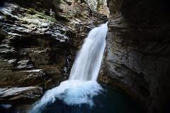 Johnston Canyon Lower Falls (Juan.Briceno.pics) Tags: canada rockies banff canyon