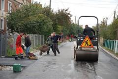 Асфальтування вулиці Воїнів-Інтернаціоналістів