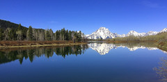 Iphone Teton (dylanawol66) Tags: oxbow river reflection tree sky mountain snow wyoming usa northamerica grandtetonnationalpark np nationalpark grandteton water landscape