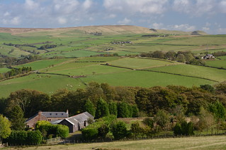 Ridge Hall Farm, The Peak District National Park, Derbyshire, England.