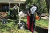 The Headless Horseman is ready for his big night. (snow41) Tags: supershot halloween skeleton horse horseman