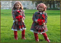 Herbstliche Grüße ... (Kindergartenkinder) Tags: schloss lembeck dorsten nrw kindergartenkinder annette himstedt dolls tivi sanrike leleti