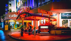 Casino lights (WLPix4you) Tags: casino night nightlife city citylife streets citystreets lights nightlights nightphotography red redlight reflection illuminated communication lightsinthedark money neon groupofpeople realpeople play playground outdoors like4like likeforlike cannes
