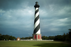 Cape Hatteras Light house Outer Banks Buxton North Carolina (watts_photos) Tags: cape hatteras light lighthouse located island outer banks town buxton north carolina part national seashore outerbanks obx sky brick structure