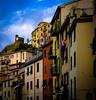Houses in Corniglia (spaetzle) Tags: corniglia houses italianriviera cinqueterra italy architecture fujfilmxt1
