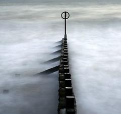 Aberdeen Beach (PeskyMesky) Tags: aberdeen aberdeenbeach longexposure le water sea ocean scotland flickr groyne landscape seascape