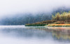 Cold and Peaceful Landscape (WhiteShipDesign) Tags: fog lake calm reflection background nature water natural october pond sunrise landscape season scenic forest peaceful mist environment vibrant color fall autumn cloud colorful countryside foliage minimal misty scenery picturesque