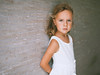 Presence (mravcolev) Tags: child girl cute soft tender portrait 35l canonef35mmf14lusm canoneos5dmarkii 5dmkii 5d2 wall summer tanned curlyhair dreamy pride