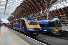Great Western Railway HST 43018 (Will Swain) Tags: london paddington station 13th august 2017 hst gwr first group class 43 high speed greater capital city south east train trains rail railway railways transport travel uk britain vehicle vehicles country england english great western 43018 18 018