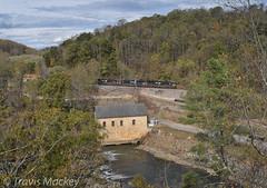 NS 820 at Blue Ridge PKWY (Travis Mackey Photography) Tags: ns 820 altavista district virginian vinton va gevo et44ac