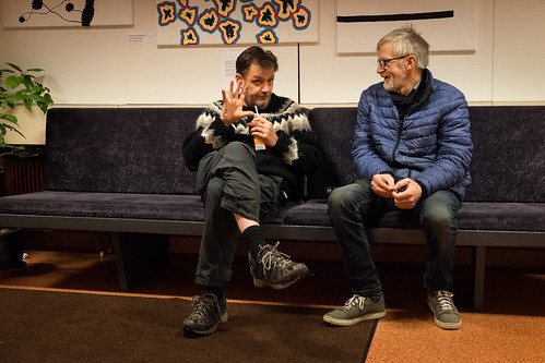 "Kristján Friðriksson og Jón Steinar Ragnarsson í MTR • <a style=""font-size:0.8em;"" href=""http://www.flickr.com/photos/22350928@N02/38008391421/"" target=""_blank"">View on Flickr</a>"