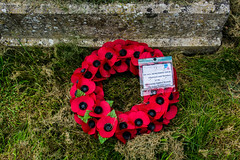Curragh Military Cemetery (NBD Photography) Tags: grave wreath poppy remember red military nikon d7100
