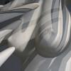Caress (Seeing Visions) Tags: 2017 argentina ar buenosaires barriopalermo museodeartelatinoamericanodebuenosaires malba artmuseum artistmariamartins titleoimpossíveltheimpossible plaster breasts female shadows monochromatic square raymondfujioka