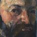 CEZANNE,1877 - Autoportrait (Orsay) - Detail 18
