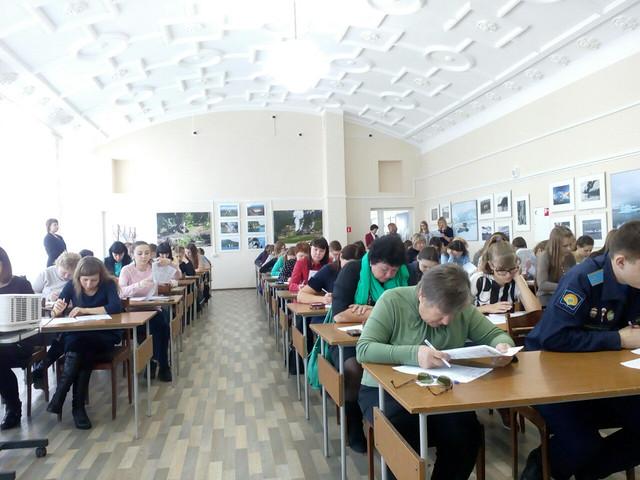 Волгоградцам открывали дополнительные аудитории— Этнографический диктант