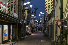 Senjuyanagicho (- Cajón de sastre -) Tags: japan japón tokio tokyo street calle nocturnalphotography fotografíanocturna perspective perspectiva nikond500 nikkor2470mmf28vr travel