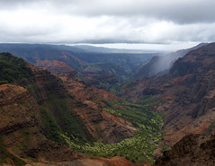 It's not what you look at that matters, it's what you see… (ferpectshotz) Tags: waimea canyon hawaii island kauai gardenisland storm rain cliffs grandcanyonofthepacific