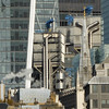 City of London (jane_sanders) Tags: london cityoflondon walkietalkie 20fenchurchstreet cheesegrater leadenhallbuilding lloydsoflondon lloyds stbotolphs church spire