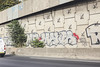 Manta (lanciendugaz) Tags: graffiti graff paris spray spraycan autoroute a4 vandalisme vandal chrome couleur lettrage roulo hauteur block crew tags tag taggeurs graffeurs negatif spot
