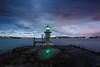 Bradleys Head Light    Sydney (David Marriott - Sydney) Tags: mosman newsouthwales australia au bradleys head light lighthouse sydney harbour twilight sunset reflection