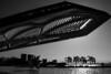 Museu do Amanhã (projeto arq. Santiago Calatrava), Rio de Janeiro, RJ, Brasil. (Paulisson Miura) Tags: museudoamanhã santiagocalatrava riodejaneiro rj brasil brazil arquitetura arquitectura architecture design modern porto museumoftomorrow blackandwhite pretoebranco monochrome contraluz backlight backlighting nikon d3100 silhueta silhouette southamerica latinamerica lightroom hi hightech tech postmodern neofuturism neo futurism futurist avantgarde