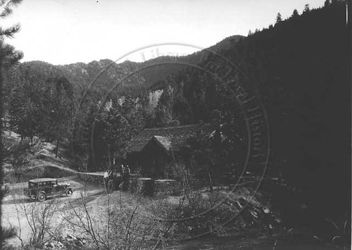 Photo - Overview of Green Mountain Lodge (1935-1940).