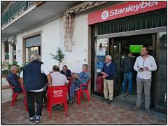 Sports Bar Saturday Evening (/RealityScanner/) Tags: italien italy cilento santamaria town kleinstadt travel reise autumn herbst mediterranean panasonic lumix gx80