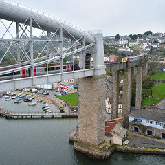 Photo trickery (jamiegaquinn) Tags: brunel royalalbertbridge saltash rab photo trickery phototrickery photomerge merge