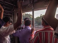 Mumbai 2015 (hunbille) Tags: india mumbai bombay birgittemumbai2lr subway commute commuting train metro