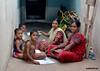 "362-""Andereño"" (Ambrispuri) Tags: ambrispuri india portrait retrato woman children smile look mothers teach"