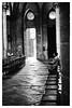 Cathédrale de Bayeux — Normandie — France (M.G6) Tags: noiretbl noretblanc blacknwhite blackandwhite cathedral bayeux church église zombie prayer