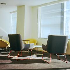 corporate_space_4800-2 (MASH-8-2) Tags: corporate mamiya c330s c330 medium format 120 80mm office chairs furniture ektar 100 kodak minimalist seattle business